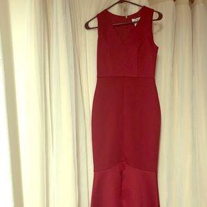 Vintage glam formal dress